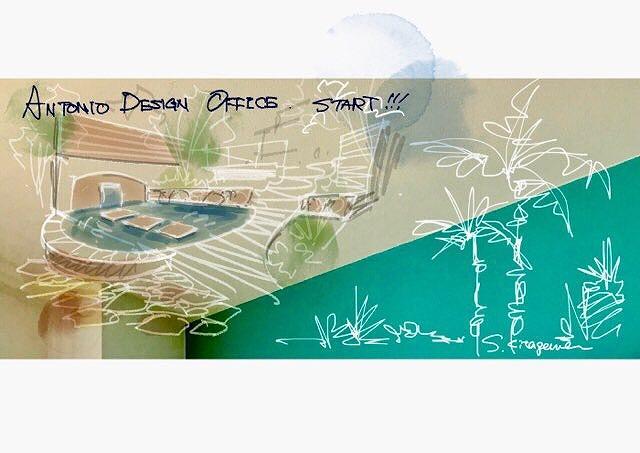 ANTONIO DESIGN OFFICE start! のデザイナーによる手描きイラストのイメージパース